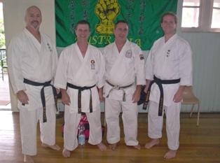 Seiwakai Australia Instructors 2010