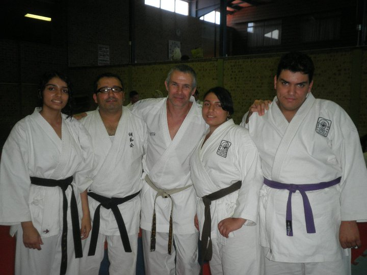 Rene Sensei, Fairfield Dojo at Karate Academy Camp 2010