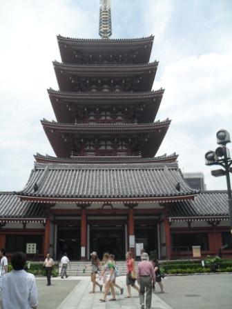 Pergola in Asakusa Tokyo Japan