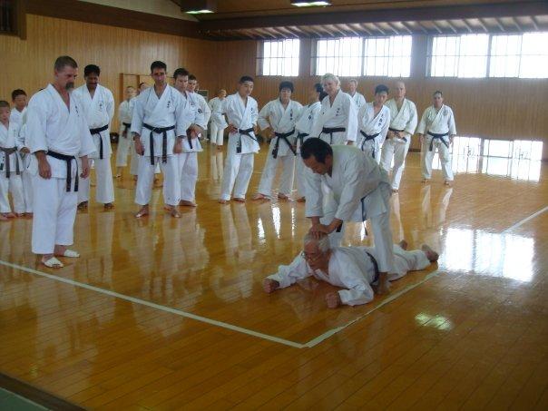 Shuji Tasaki Hanshi and Seiichi Fujiwara Hanshi