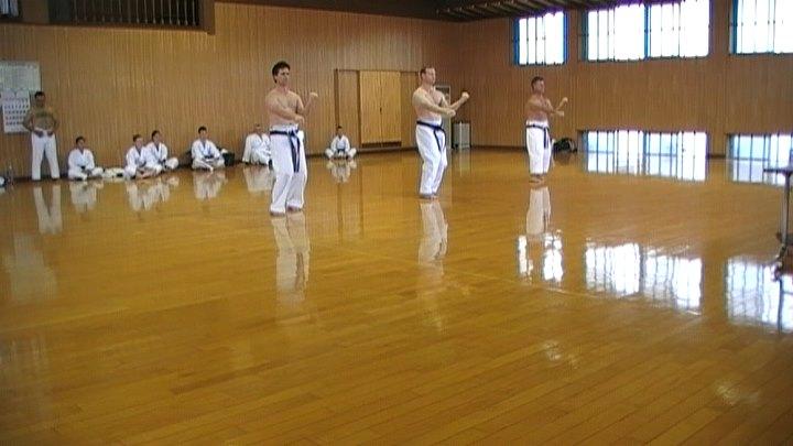 6th Dan Grading in Japan 2010