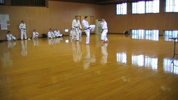 Kumite Jamie Duggan and Glenn Stephenson Japan 2010