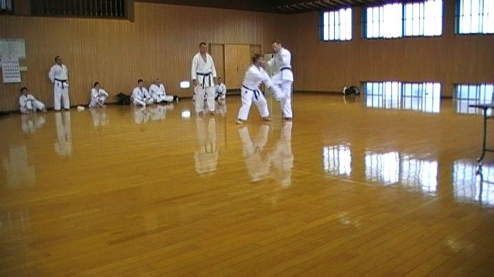 Kumite at Omgari Budokan
