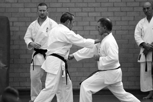 Seiichi Fujiwara Hanshi and Glenn Stephenson Kyoshi Sydney 6 April 2016