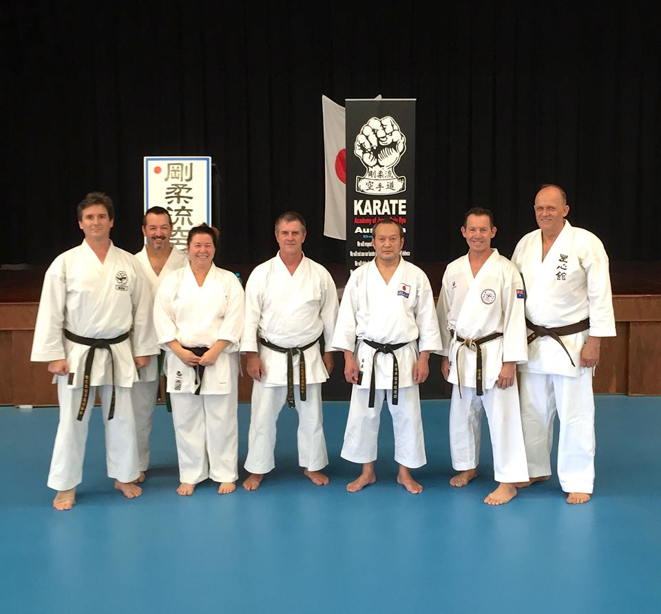 Brisbane JKF Gojukai Training 2016